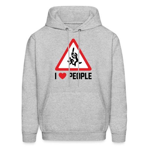 I Love People - Men's Hoodie