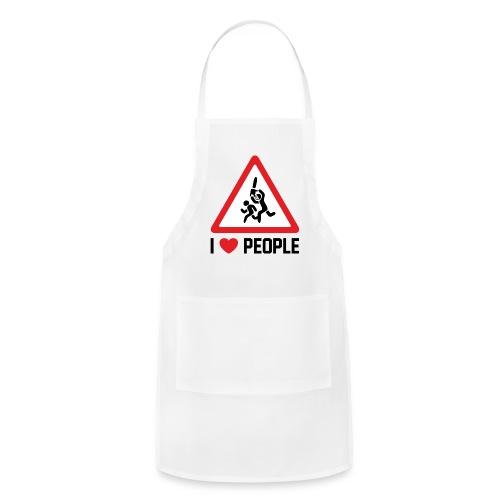 I Love People - Adjustable Apron