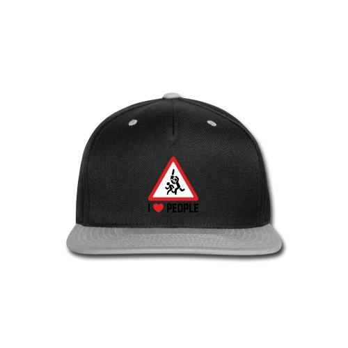 I Love People - Snap-back Baseball Cap