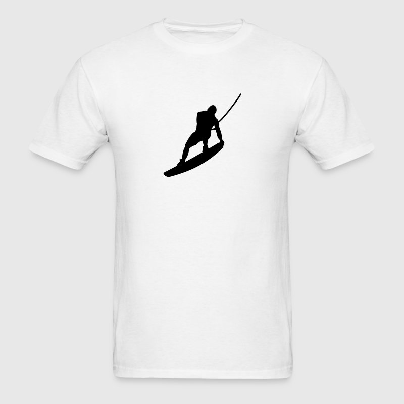 WAKEBOARD, WAKE, WATER, CABLE, Raley, WATER, T-Shirts - Men's T-Shirt
