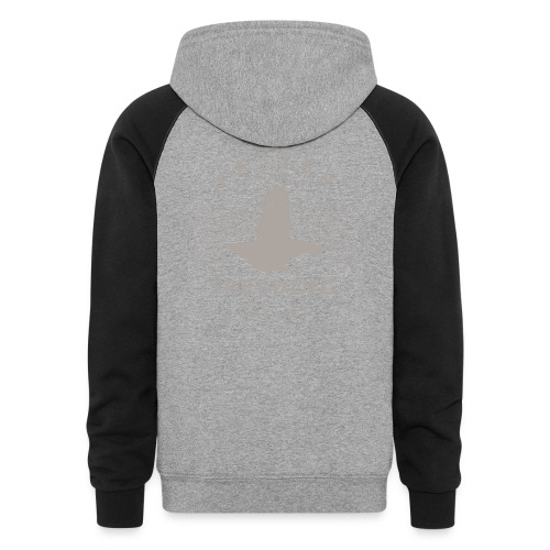 Faster than a Speeding Pullet - Colorblock Hoodie
