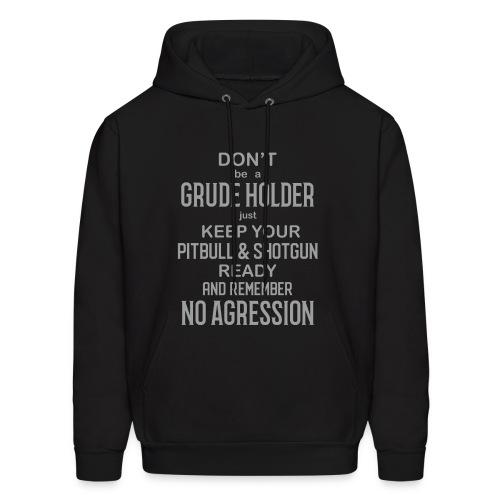 No Agression - Men's Hoodie