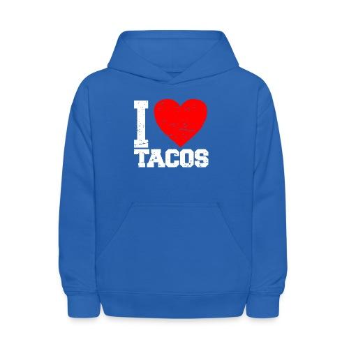 I love tacos t-shirt - Kids' Hoodie