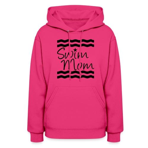 Swim Mom meet day t-shirt - Women's Hoodie