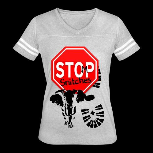 STOMP SNITCHING - Women's Vintage Sport T-Shirt