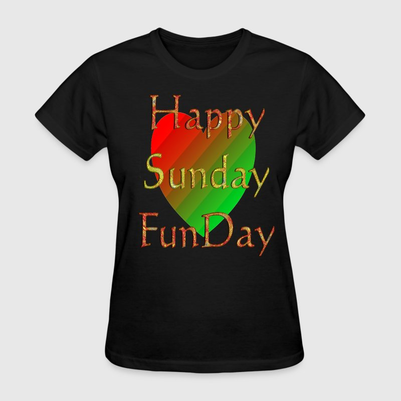 happy_sunday_funday Women's T-Shirts - Women's T-Shirt