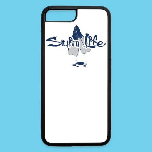 Men's Swim Life Tank - iPhone 7 Plus/8 Plus Rubber Case