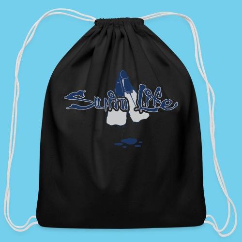 Men's Swim Life Tank - Cotton Drawstring Bag
