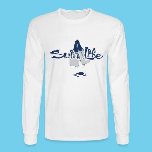 Men's Swim Life Tank - Men's Long Sleeve T-Shirt