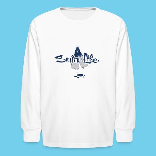 Men's Swim Life Tank - Kids' Long Sleeve T-Shirt