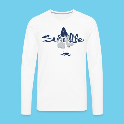 Men's Swim Life Tank - Men's Premium Long Sleeve T-Shirt