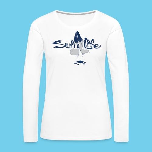 Men's Swim Life Tank - Women's Premium Long Sleeve T-Shirt