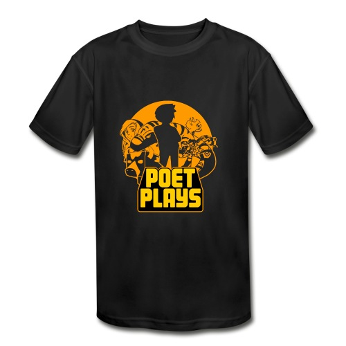 PoetPlays RETRO - Kids' Moisture Wicking Performance T-Shirt