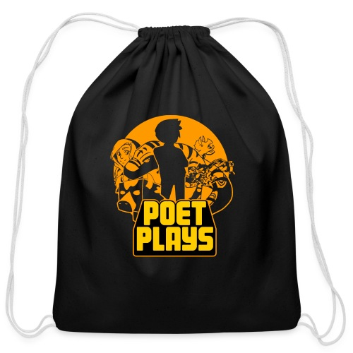 PoetPlays RETRO - Cotton Drawstring Bag
