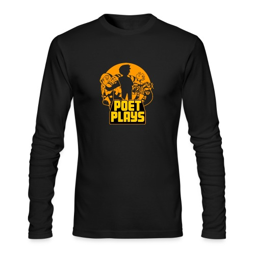 PoetPlays RETRO - Men's Long Sleeve T-Shirt by Next Level