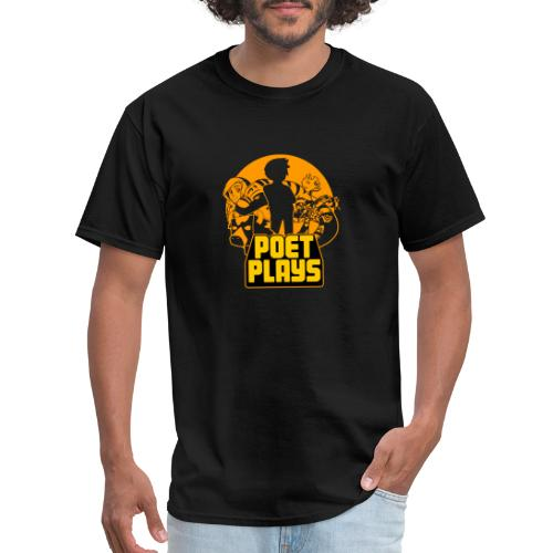 PoetPlays RETRO - Men's T-Shirt