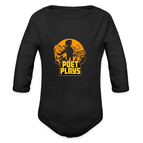 PoetPlays RETRO - Organic Long Sleeve Baby Bodysuit