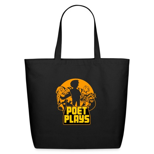 PoetPlays RETRO - Eco-Friendly Cotton Tote