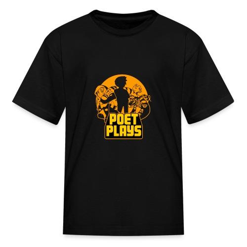 PoetPlays RETRO - Kids' T-Shirt