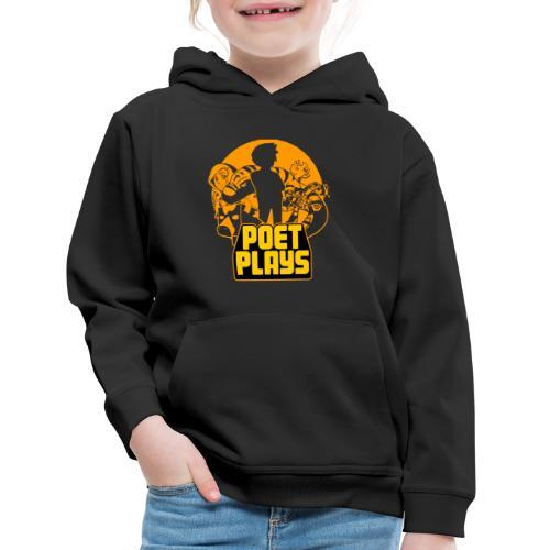 PoetPlays RETRO - Kids' Premium Hoodie