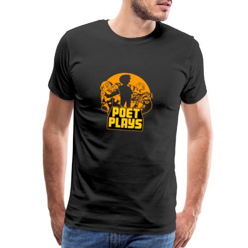 PoetPlays RETRO - Men's Premium T-Shirt