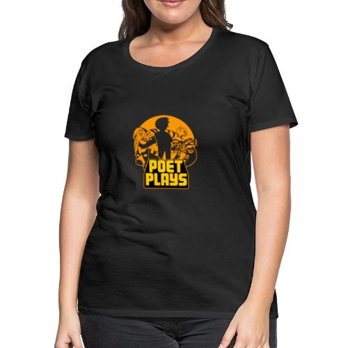 PoetPlays RETRO - Women's Premium T-Shirt