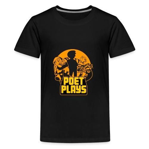 PoetPlays RETRO - Kids' Premium T-Shirt
