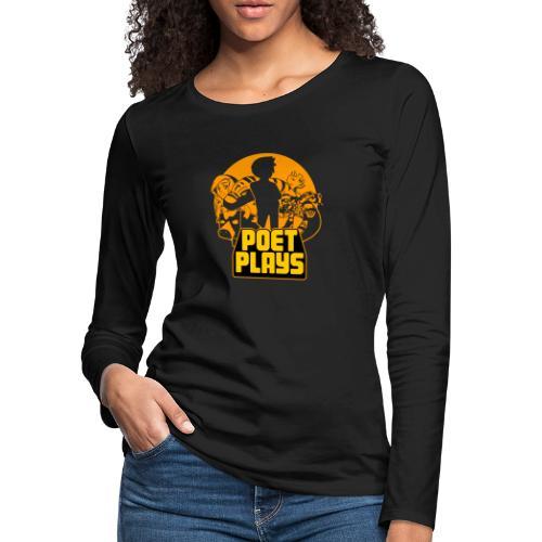 PoetPlays RETRO - Women's Premium Long Sleeve T-Shirt