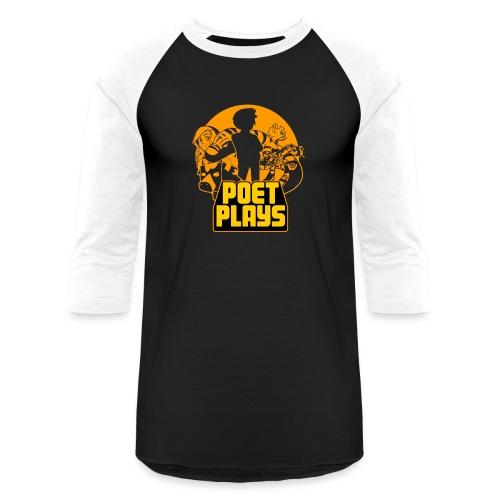 PoetPlays RETRO - Baseball T-Shirt