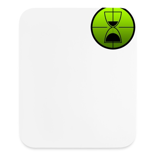 TimeShot Badge Logo - Mouse pad Vertical