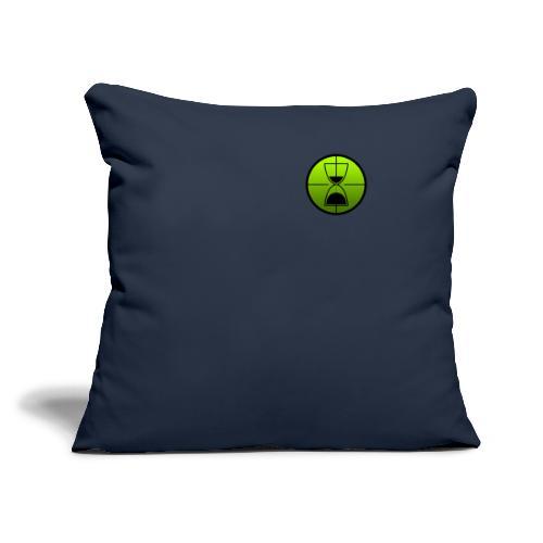 TimeShot Badge Logo - Throw Pillow Cover