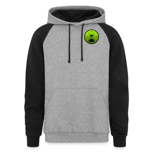 TimeShot Badge Logo - Colorblock Hoodie
