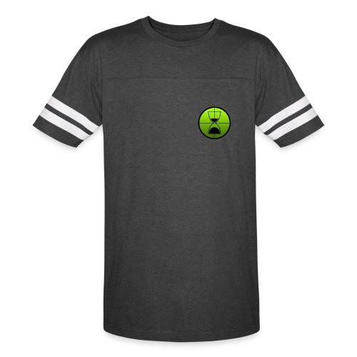 TimeShot Badge Logo - Vintage Sport T-Shirt