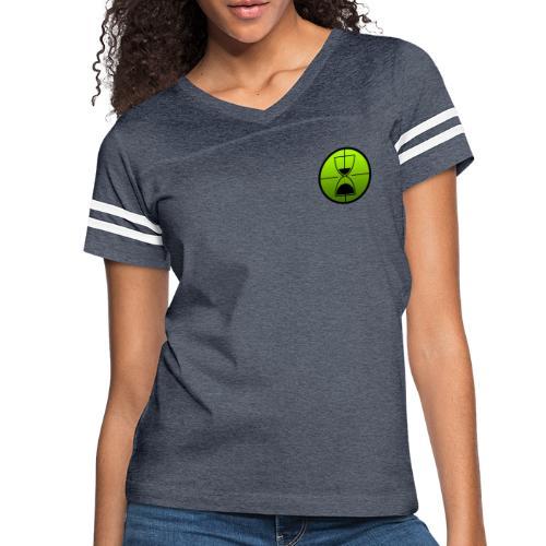 TimeShot Badge Logo - Women's Vintage Sport T-Shirt