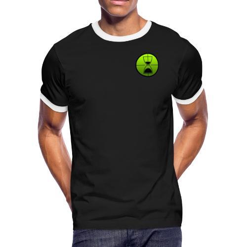 TimeShot Badge Logo - Men's Ringer T-Shirt