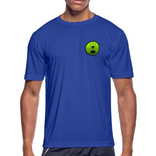 TimeShot Badge Logo - Men's Moisture Wicking Performance T-Shirt