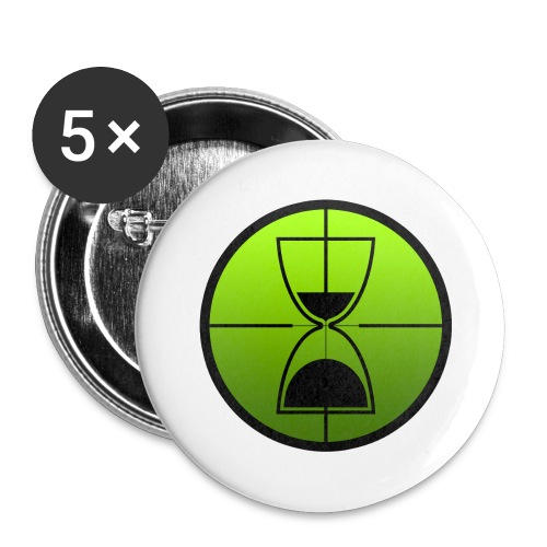 TimeShot Badge Logo - Small Buttons