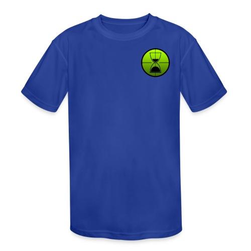 TimeShot Badge Logo - Kids' Moisture Wicking Performance T-Shirt