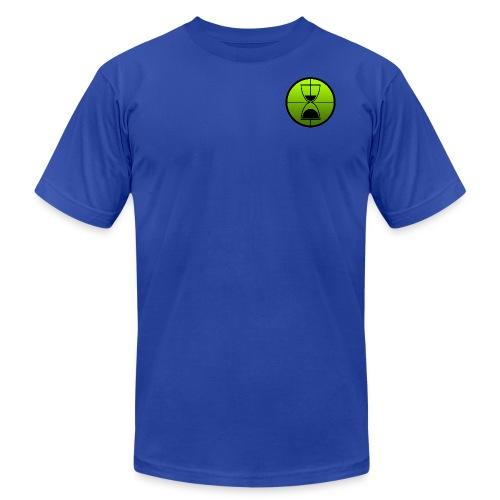 TimeShot Badge Logo - Men's  Jersey T-Shirt