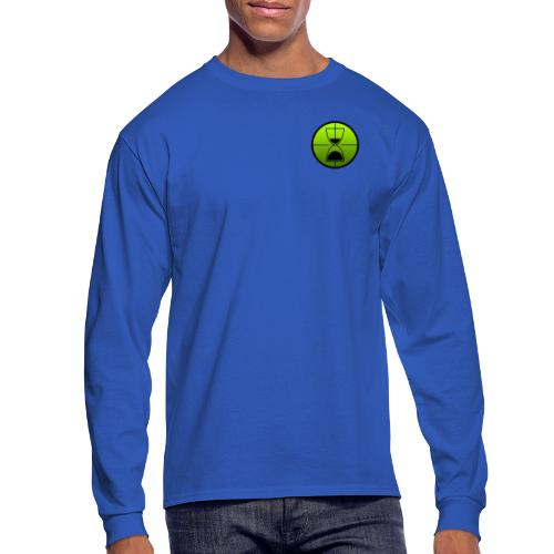 TimeShot Badge Logo - Men's Long Sleeve T-Shirt