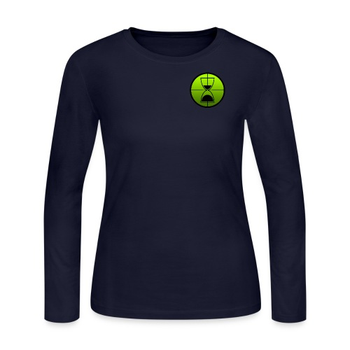 TimeShot Badge Logo - Women's Long Sleeve Jersey T-Shirt