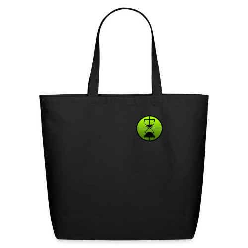TimeShot Badge Logo - Eco-Friendly Cotton Tote
