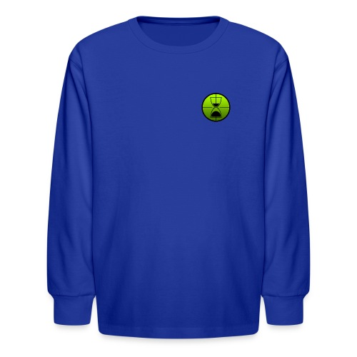TimeShot Badge Logo - Kids' Long Sleeve T-Shirt