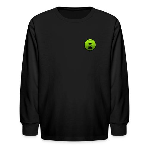 TimeShot Badge Logo - Kids' Long Sleeve T-Shirt