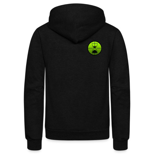 TimeShot Badge Logo - Unisex Fleece Zip Hoodie