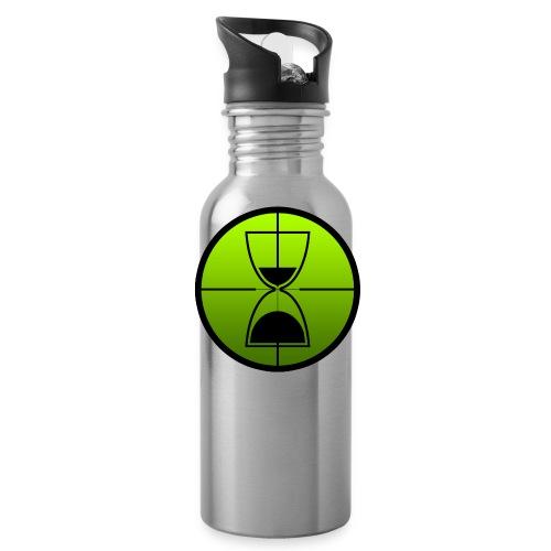 TimeShot Badge Logo - Water Bottle