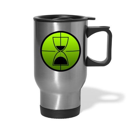 TimeShot Badge Logo - Travel Mug