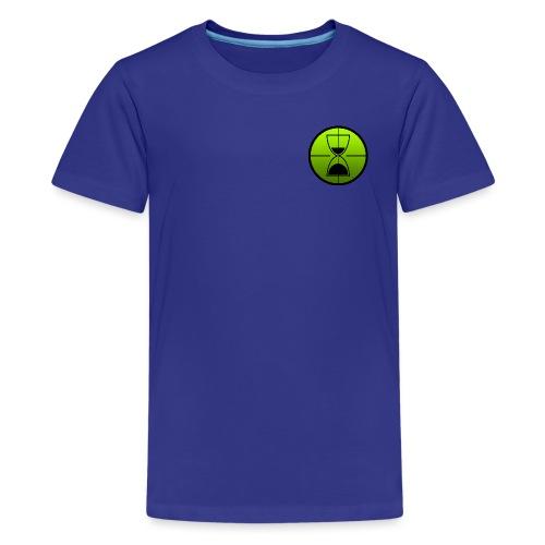 TimeShot Badge Logo - Kids' Premium T-Shirt