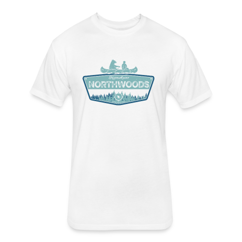 Northwoods GetAway - Fitted Cotton/Poly T-Shirt by Next Level