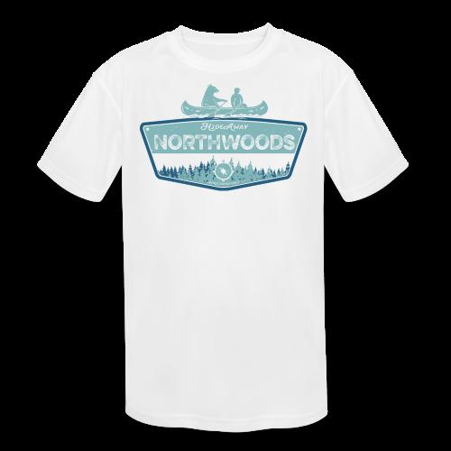 Northwoods GetAway - Kids' Moisture Wicking Performance T-Shirt
